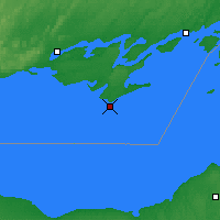 Nearby Forecast Locations - Point Petre - Χάρτης