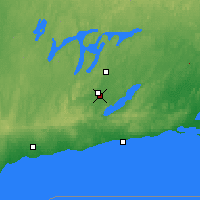 Nearby Forecast Locations - Peterborough - Χάρτης
