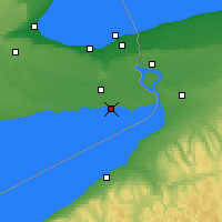 Nearby Forecast Locations - Port Colborne - Χάρτης