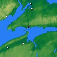 Nearby Forecast Locations - Parrsboro - Χάρτης