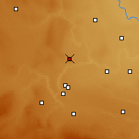 Nearby Forecast Locations - Iron Springs - Χάρτης