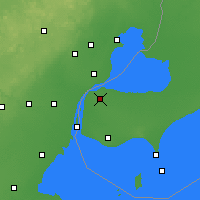 Nearby Forecast Locations - Windsor - Χάρτης