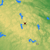 Nearby Forecast Locations - Algonquin Provincial Park - Χάρτης