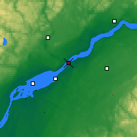 Nearby Forecast Locations - Trois-Rivières - Χάρτης
