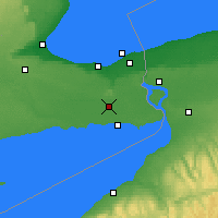 Nearby Forecast Locations - Welland Pelham - Χάρτης