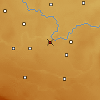 Nearby Forecast Locations - Grassy Lake - Χάρτης