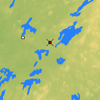 Nearby Forecast Locations - Chibougamau - Χάρτης
