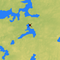 Nearby Forecast Locations - Sioux Lookout - Χάρτης
