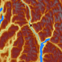 Nearby Forecast Locations - Revelstoke - Χάρτης