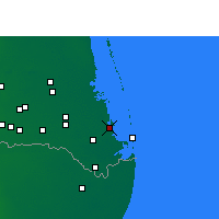 Nearby Forecast Locations - Port Isabel - Χάρτης