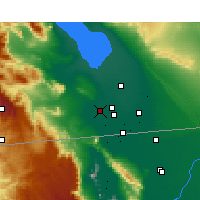 Nearby Forecast Locations - El Centro - Χάρτης