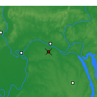 Nearby Forecast Locations - Paducah - Χάρτης
