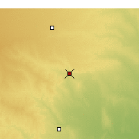 Nearby Forecast Locations - Medicine Lodge - Χάρτης