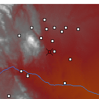 Nearby Forecast Locations - Fort Carson - Χάρτης