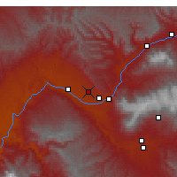 Nearby Forecast Locations - Grand Junction - Χάρτης