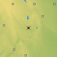 Nearby Forecast Locations - Spencer - Χάρτης