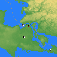 Nearby Forecast Locations - Sault Ste. Marie - Χάρτης