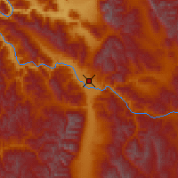 Nearby Forecast Locations - Missoula - Χάρτης