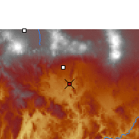 Nearby Forecast Locations - Zacatepec de Hidalgo - Χάρτης
