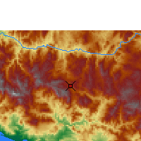 Nearby Forecast Locations - Chilpancingo - Χάρτης