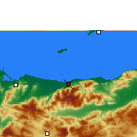 Nearby Forecast Locations - La Ceiba - Χάρτης