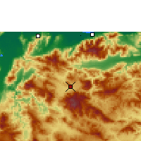 Nearby Forecast Locations - Yoro - Χάρτης