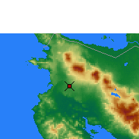 Nearby Forecast Locations - Λιμπέρια - Χάρτης