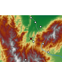 Nearby Forecast Locations - Cúcuta - Χάρτης