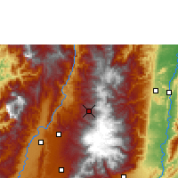 Nearby Forecast Locations - Manizales - Χάρτης