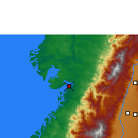 Nearby Forecast Locations - Buenaventura - Χάρτης