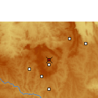 Nearby Forecast Locations - Μπραζίλια - Χάρτης