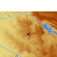 Nearby Forecast Locations - Franca - Χάρτης