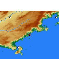 Nearby Forecast Locations - Ubatuba - Χάρτης