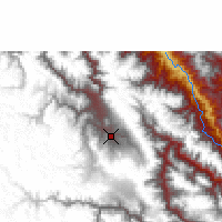 Nearby Forecast Locations - Ayacucho - Χάρτης