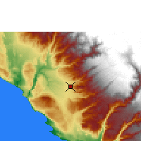 Nearby Forecast Locations - Nazca - Χάρτης