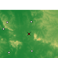 Nearby Forecast Locations - Villarrica - Χάρτης