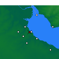 Nearby Forecast Locations - Olivos - Χάρτης