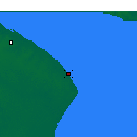 Nearby Forecast Locations - Punta Indio - Χάρτης