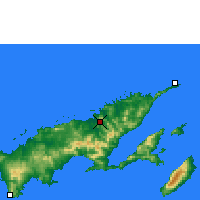 Nearby Forecast Locations - Labasa - Χάρτης