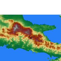 Nearby Forecast Locations - Agaun - Χάρτης