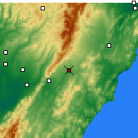 Nearby Forecast Locations - Dannevirke - Χάρτης
