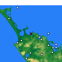 Nearby Forecast Locations - Taipa-Mangonui - Χάρτης