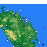 Nearby Forecast Locations - Kawakawa - Χάρτης
