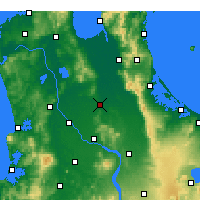 Nearby Forecast Locations - Morrinsville - Χάρτης