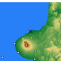 Nearby Forecast Locations - New Plymouth - Χάρτης