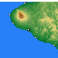 Nearby Forecast Locations - Hawera - Χάρτης