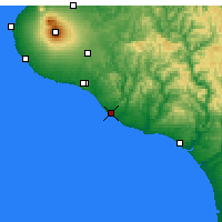 Nearby Forecast Locations - Patea - Χάρτης