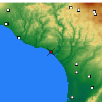 Nearby Forecast Locations - Whanganui - Χάρτης