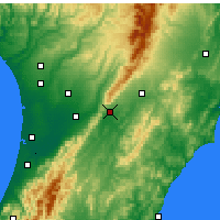 Nearby Forecast Locations - Woodville - Χάρτης
