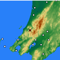 Nearby Forecast Locations - Paraparaumu - Χάρτης